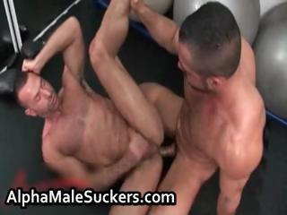 Very hardcore homosexual fucking and engulfing