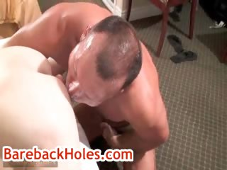 Brock acquires his anus rimmed by fred mayer