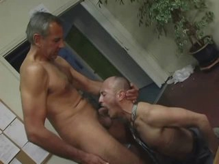 daddy fuck chap in office