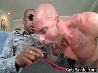 Pierced sack acquires hard black