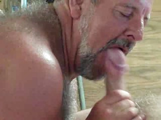 Dad likes engulf and eat cum