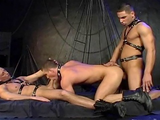 Leather and chains...