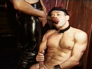 Sweet Williams fucked by  leather dad Mondo Moore right up his...