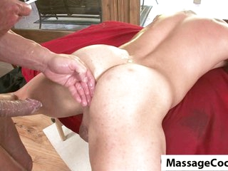 Massagecocks Biggest Homosexual Dick Rub Down