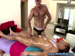 Gay str8 massage table fuck
