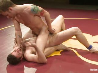 Sebastin and Tony are totally in nature's garb and willing for combat. Every of 'em wants to win this battle as they just need every others fit and taut body. See 'em how desperately they are fighting to win and in the mean time they are feeling the pleasure by touching every others dongs and taut asses.