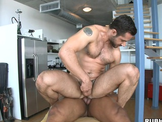 His powerful schlong permeates that pure pumped up anus like water!