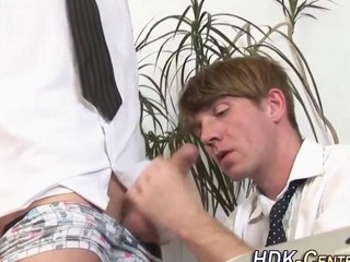 Raw drilled office homo wazoo
